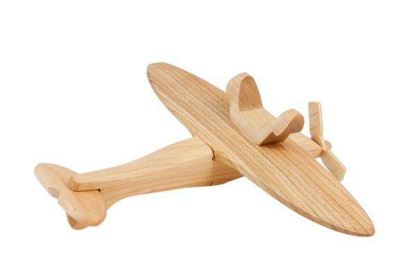 """Samolot z drewna """"Spitfire"""""""