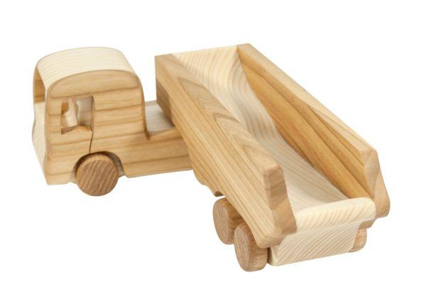 """Ciężarówka z drewna """"Daf XF"""""""