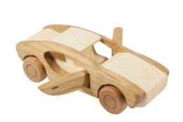 Samochód z drewna