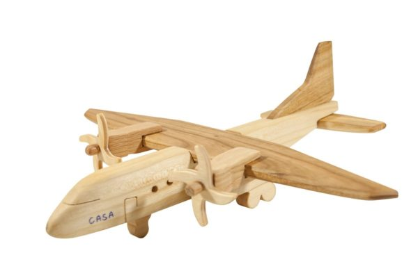 "Samolot z drewna ""CASA"""