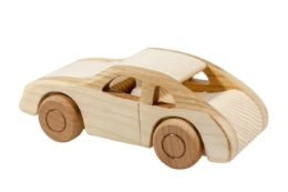 Autko z drewna