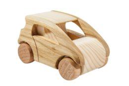 """Autko z drewna """"Smart"""""""