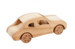 "Samochód z drewna ""Syrena"""
