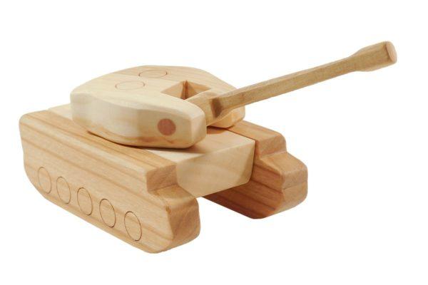 """Czołg z drewna """"Tygrys"""""""
