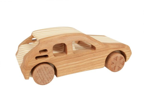 "Samochód z drewna ""Peugeot 205 GDI"""