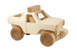 "Samochód zdrewna ""Monster Truck"""