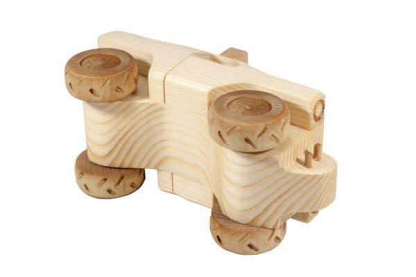 "Samochód z drewna ""Monster Truck"""