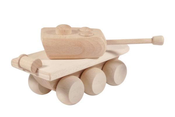 Czołg z drewna