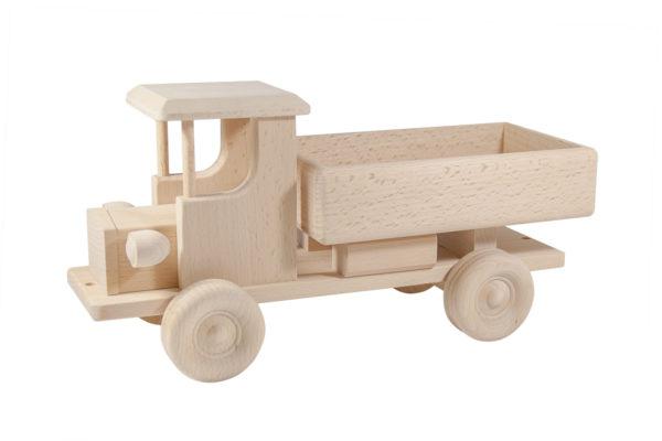 Ciężarówka z drewna