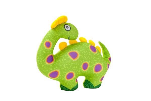 """Maskotka, przytulanka """"dinozaur"""" zielona"""