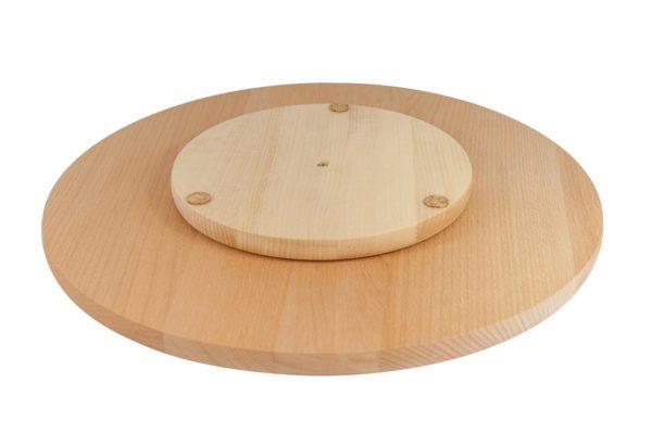 Deska obrotowa z drewna bukowego