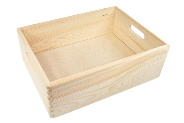 Drewniana skrzynka 40/30/14 cm