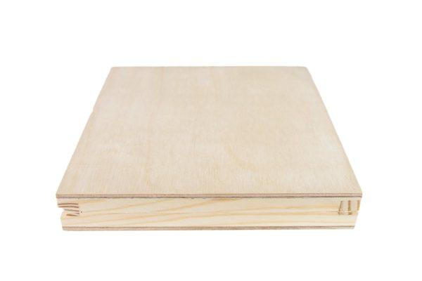Drewniane pudełko na płytę CD