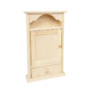 Drewniana szafka na klucze z szufladą