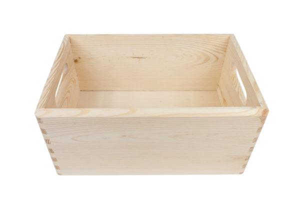 Drewniana skrzynka 30/20/14 cm