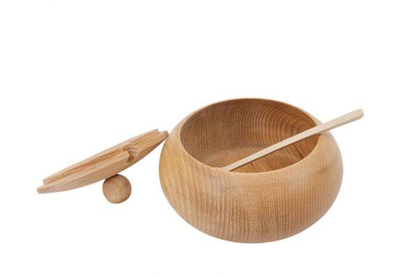 Cukiernica z drewna ∅ 14 cm