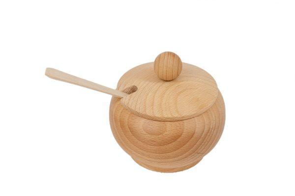 Cukiernica z drewna ∅ 12 cm