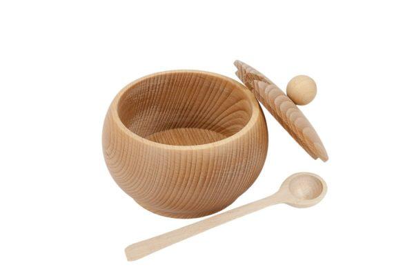 Cukiernica z drewna ∅ 10 cm