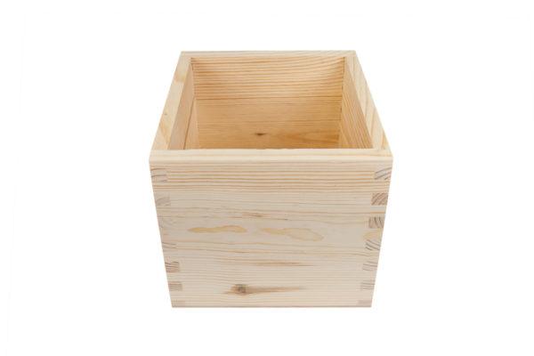 Pojemnik, skrzynka z drewna
