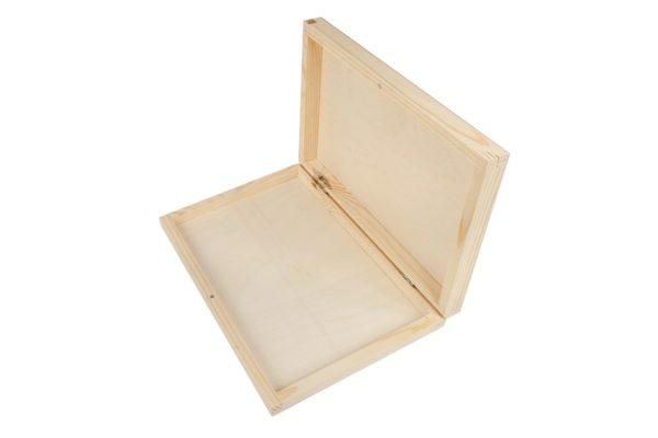 Drewniane pudełko na zdjęcia