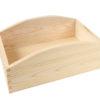 Drewniana skrzynka, pojemnik