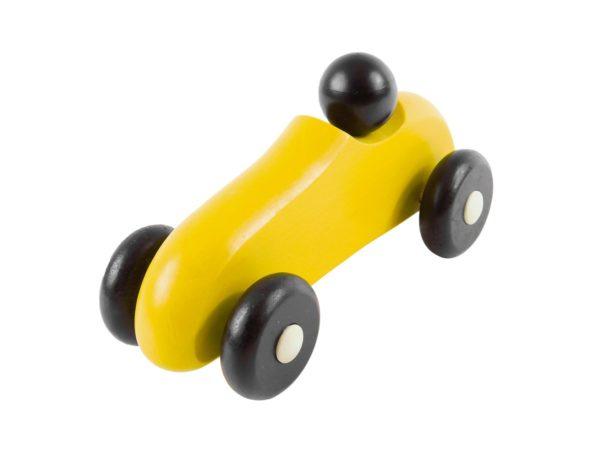 Drewniane autko rajdowe