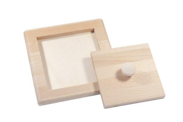 Drewniana układanka - kwadrat