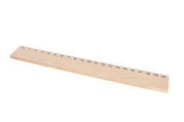 Drewniana linijka 20 cm
