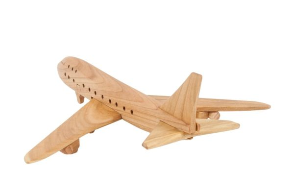 "Samolot z drewna ""Jumbo Jet"""