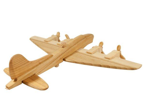 """Drewniany samolot bombowy """"B-17"""""""