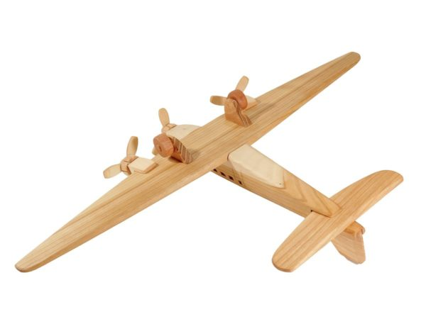 "Samolot z drewna ""Ju-52"""