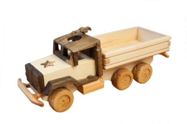 "Drewniana Ciężarówka ""Studebaker US-6"""