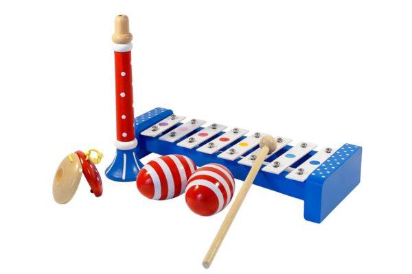 Zestaw instrumentów muzycznych dla dzieci