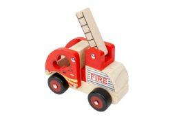 Autko zdrewna - straż pożarna