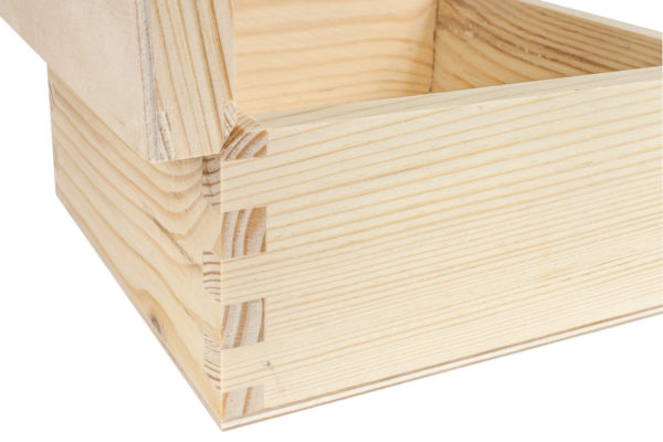 Drewniane pudełko 20/20/9 cm