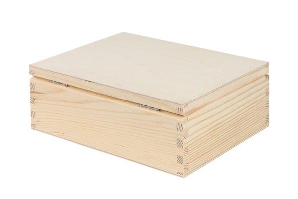 Drewniane pudełko z sorterem