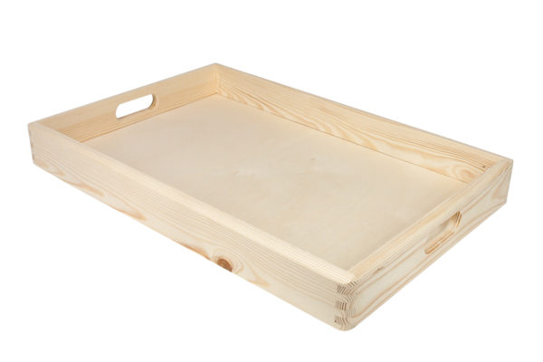 Taca drewniana 60/40 cm
