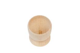 Kieliszek drewniany do jajek