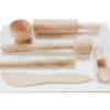 Akcesoria kuchenne z drewna