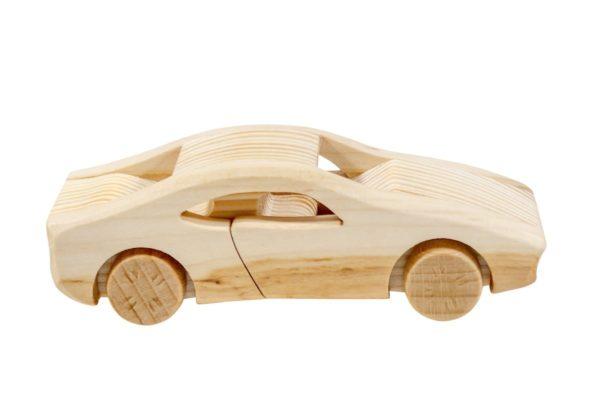 """Samochód z drewna """"Ferrari"""""""