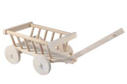 Wózek drewniany