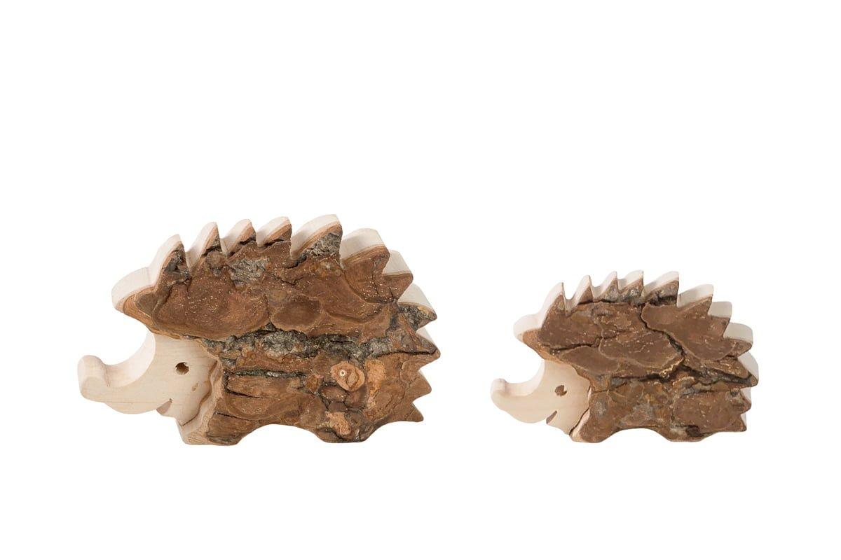 Drewniane figurki jeży