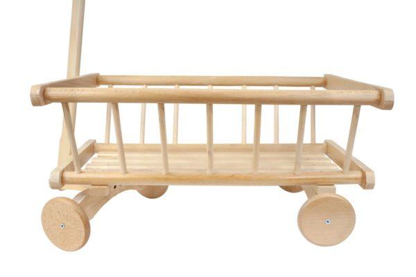 Wózek drabiniasty z drewna