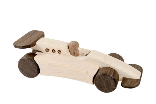 Bolid F1, auto z drewna