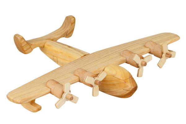 """Wykonana z drewna łódź latająca """"Coronado"""""""