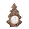 Choinka z drewna - oryginalna bombka na choinkę bożonarodzeniową