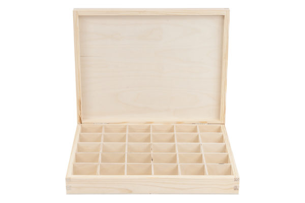 "Drewniane pudełko typu""herbaciarka"""
