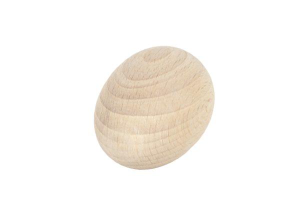 Jajko drewniane - kurze, wielkanocne