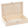 Drewniana kasetka, pudełko na zdjęcia