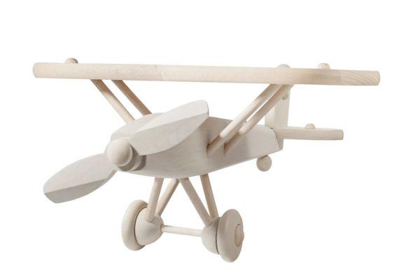 Samolot z drewna